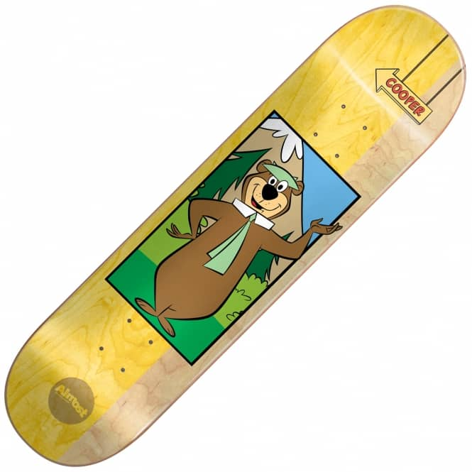 Almost Skateboards Cooper Yogi Bear Skateboard Deck 8.125