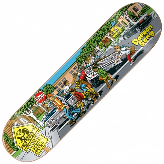 Almost Skateboards Daewon Low Riders Skateboard Deck 8.0