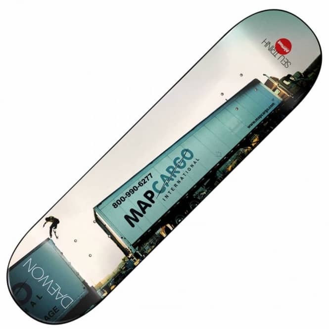 Almost Skateboards Daewon Seu Trihn Skateboard Deck 7.75''