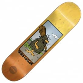 Almost Skateboards Haslam Captain Caveman Fade Skateboard Deck 8.25''