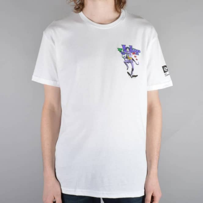 Almost Skateboards Joker Focus Skate T-Shirt - White