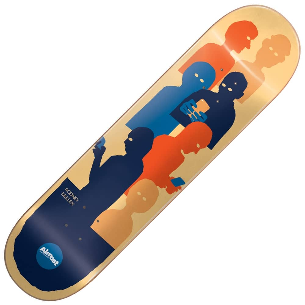 Almost skateboards mullen group text impact light skateboard deck mullen group text impact light skateboard deck 825quot aloadofball Image collections