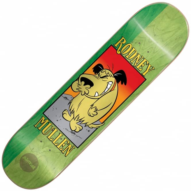 Almost Skateboards Mullen Muttley Skateboard Deck 8.0