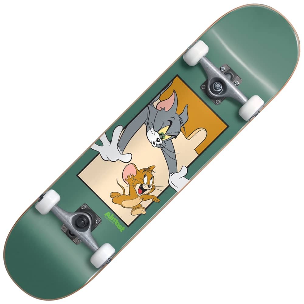 e4f90abace09 Almost Skateboards Almost Skateboards Tom And Jerry Complete Skateboard 7.75
