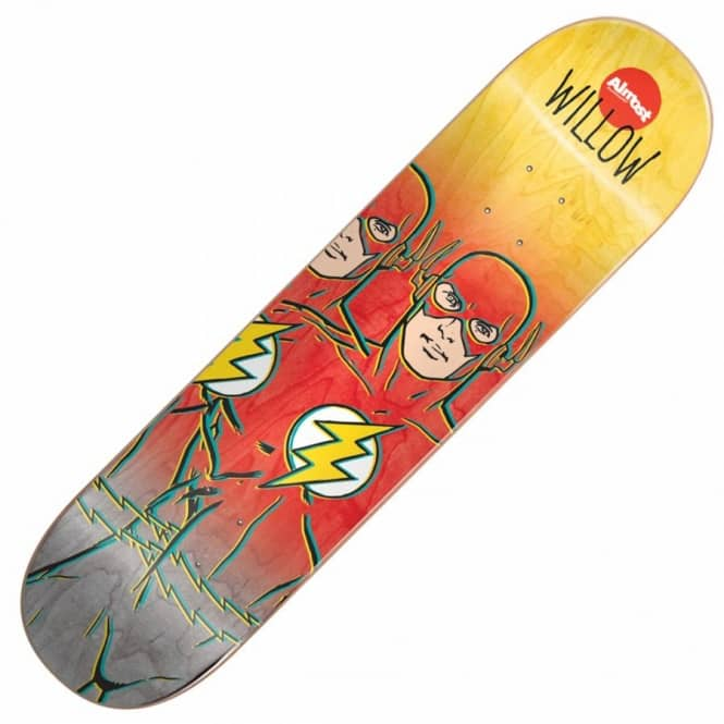 Almost Skateboards Willow Flash Fade Skateboard Deck 8.38''