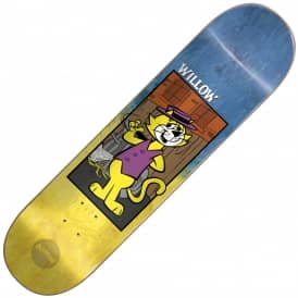 Almost Skateboards Willow Top Cat Fade Skateboard Deck 8.0''