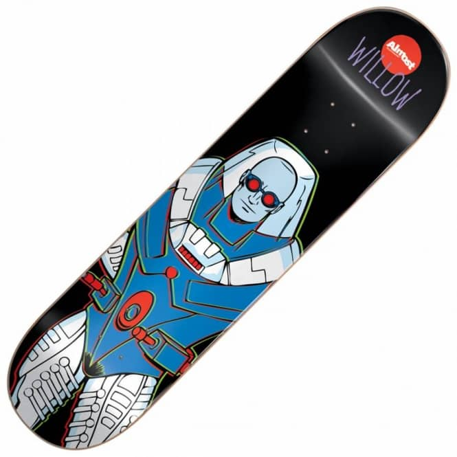 Almost Skateboards Willow Villain Mr. Freeze V2 Skateboard Deck 7.75''