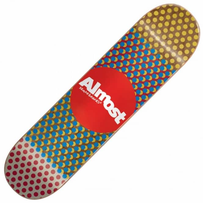 Almost Skateboards Wordmark'D Skateboard Deck 8.0''