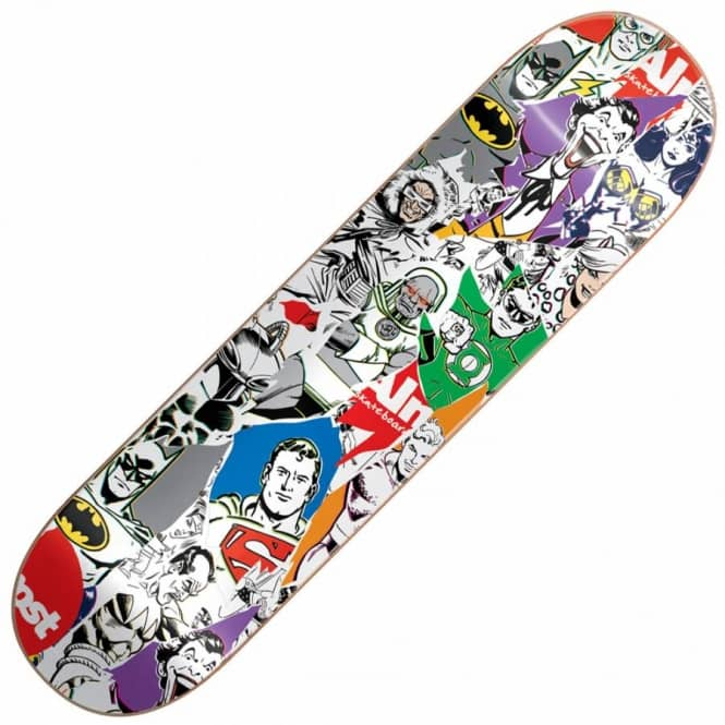 915a275be93 Almost Skateboards Almost Skateboards X DC Comics Justice League Skateboard  Deck 8.25''
