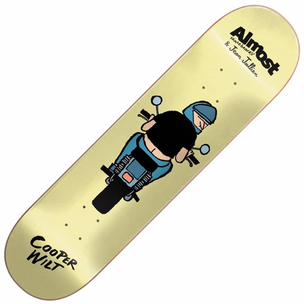 x Jean Jullien Cooper Wilt Skateboard Deck 8 0