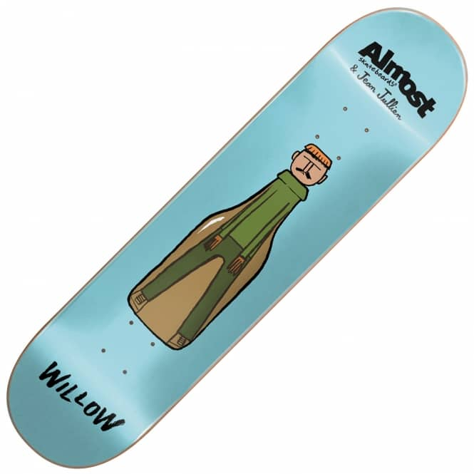 Almost Skateboards x Jean Jullien Willow Skateboard Deck 7.75