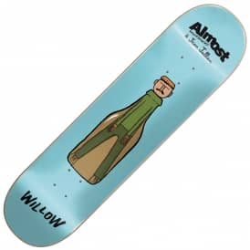 Almost Skateboards x Jean Jullien Willow Skateboard Deck 7.75""