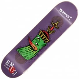 Almost Skateboards Youness Bird Shits Impact Plus Skateboard Deck 8.25""