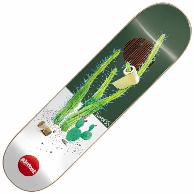 Almost Skateboards Youness Junk On My Prick Impact Plus Skateboard Deck 8.25
