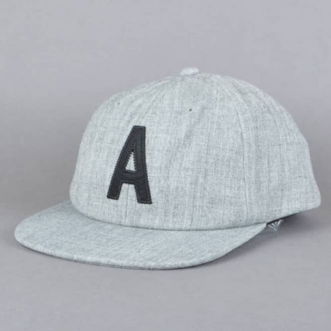 Altamont Bohr 6 Panel Snapback Cap - Grey/Black