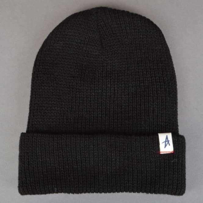 Altamont Mackaye Fold Up Beanie - Black