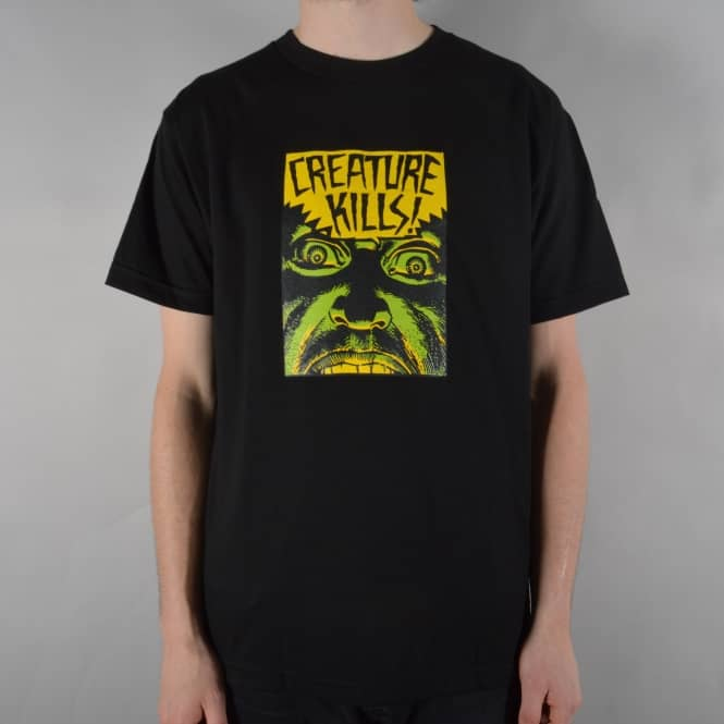 Creature Skateboards Ambush Skate T-Shirt - Black