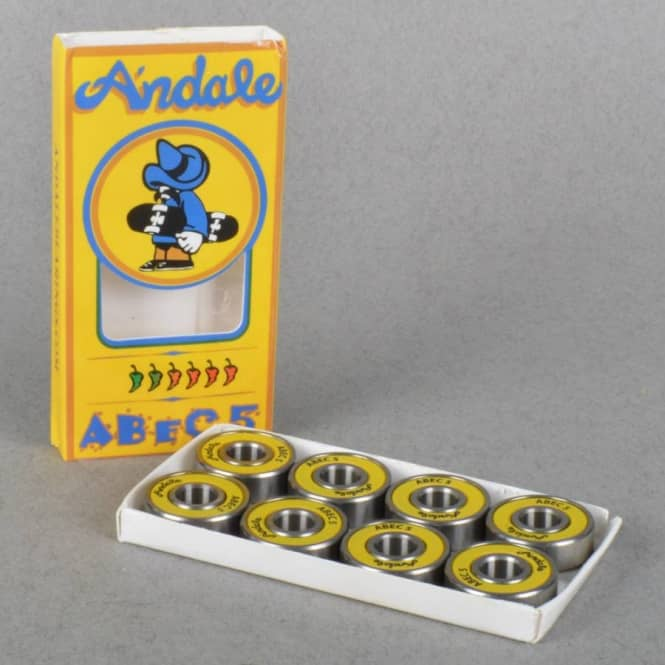 skateboard bearings andale. andale bearings abec 5 skateboard - skateboards from native skate store uk 0
