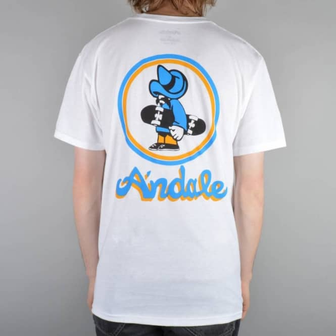 Andale Bearings Andale OG Skate T-Shirt - White