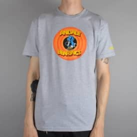 Andale Bearings Circle Skate T-Shirt - Heather Grey
