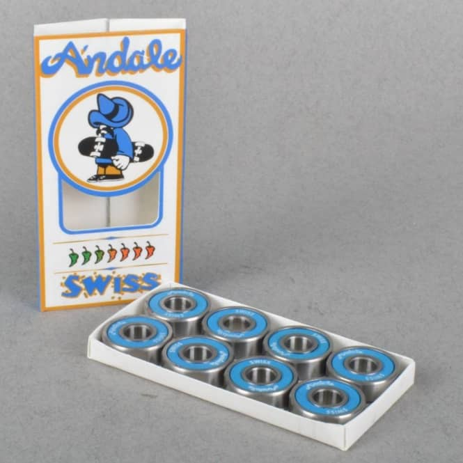 Andale Bearings Andale Swiss Skateboard Bearings