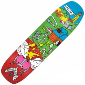 Anderson Farm Boy Barney Shape Skateboard Deck 8.5