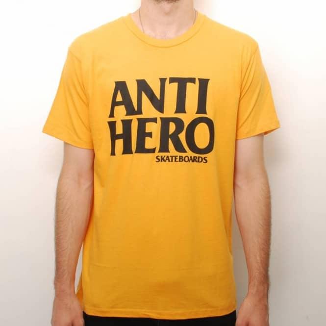 43ae5146bb Antihero Skateboards Anti-Hero Black Hero Slim Fit Skate T-Shirt ...