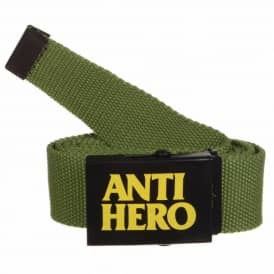 Antihero Skateboards Anti-Hero Force Web Belt - Olive