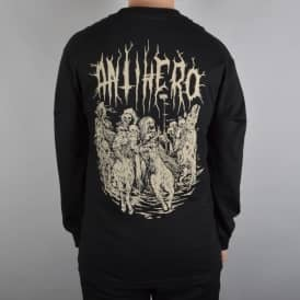Antihero Skateboards 4 Horsemen Longsleeve T-Shirt - Black