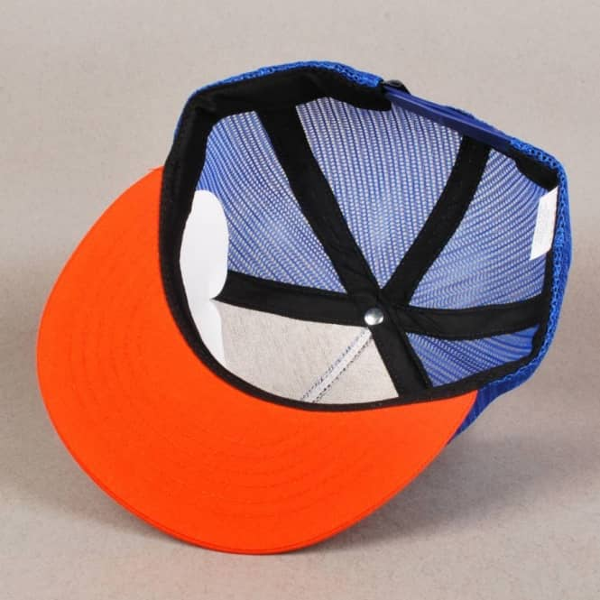 6b718915928 Antihero Skateboards Anti Hero Hole In One Trucker Cap - Blue Orange ...
