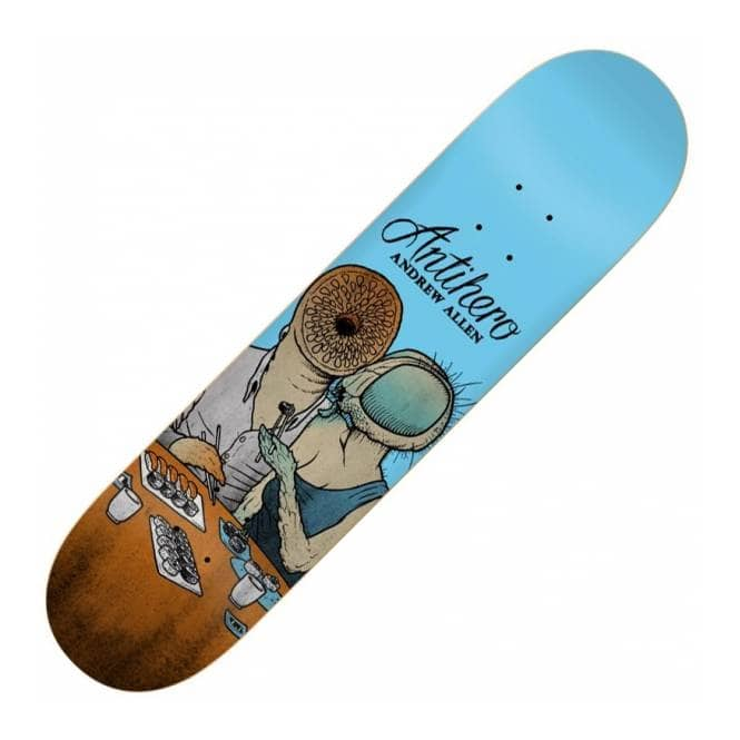 Antihero Skateboards Antihero Andrew Allen Miracle of Life Skateboard Deck 8.125''
