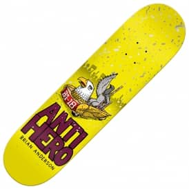 Antihero Skateboards BA 1st (Purple Stain) Skateboard Deck 8.25''