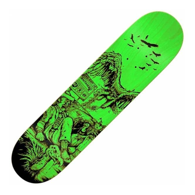 Antihero Skateboards Beres Fresh Meat Large (Green Stain) Skateboard Deck