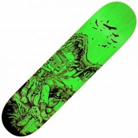 Beres Fresh Meat Large (Green Stain) Skateboard Deck