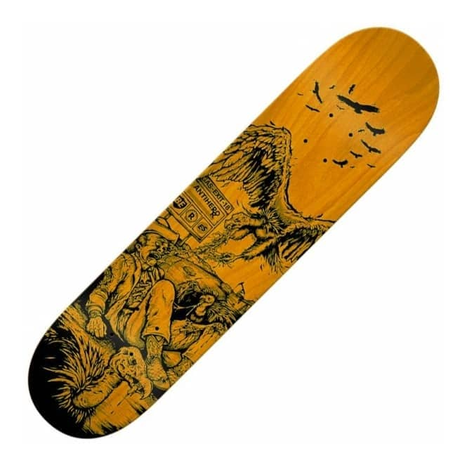 Antihero Skateboards Beres Fresh Meat Small (Orange Stain) Skateboard Deck 8.25
