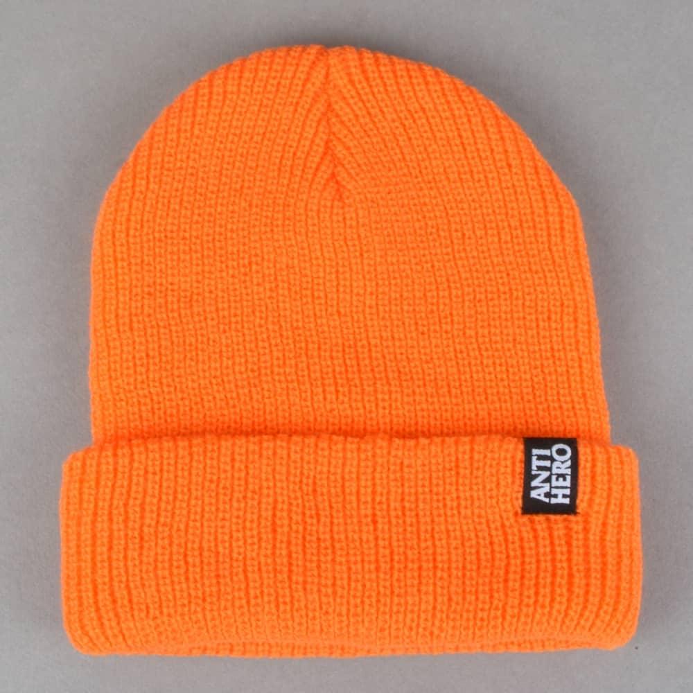 7838ca824ce Antihero Skateboards Blackhero Clip Label Cuff Beanie - Orange ...