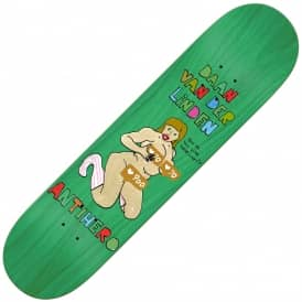 Antihero Skateboards Daan Porous Walker 2 Skateboard Deck 8.06""