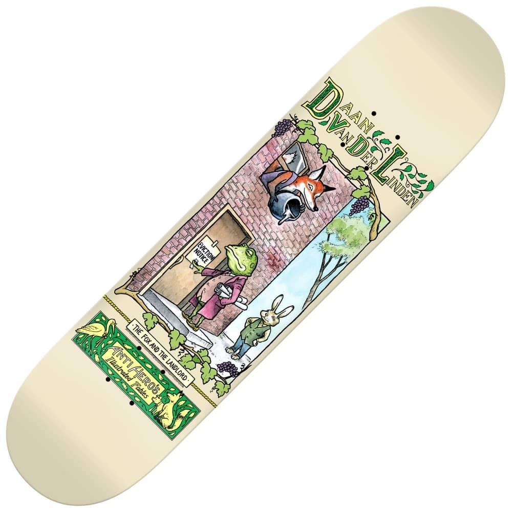 e2bab873e65 Antihero Skateboards Antihero Skateboards Fabels Daan Skateboard Deck 8.43