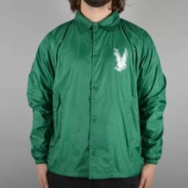 Flying Eagle Coach Jacket - Kelly Green