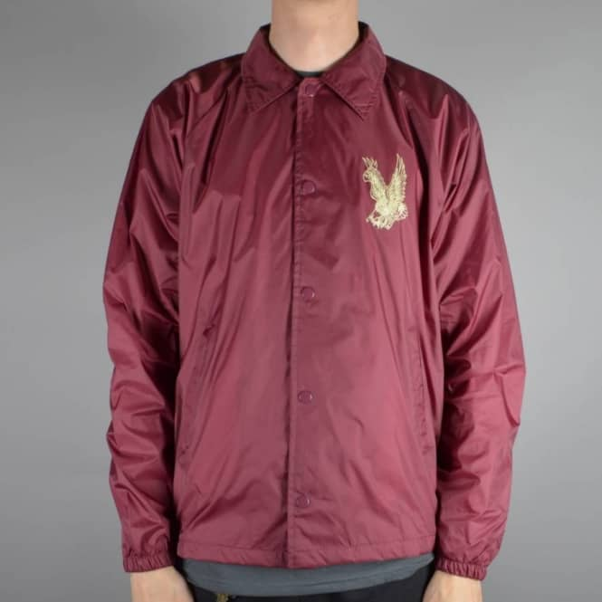 Antihero Skateboards Flying Eagle Coaches Jacket - Maroon
