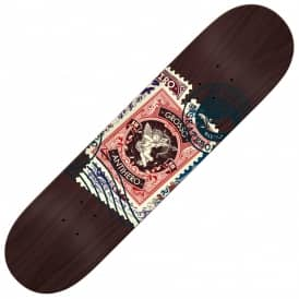 Antihero Skateboards Grosso Postal (Black Stain) Skateboard Deck 8.75""