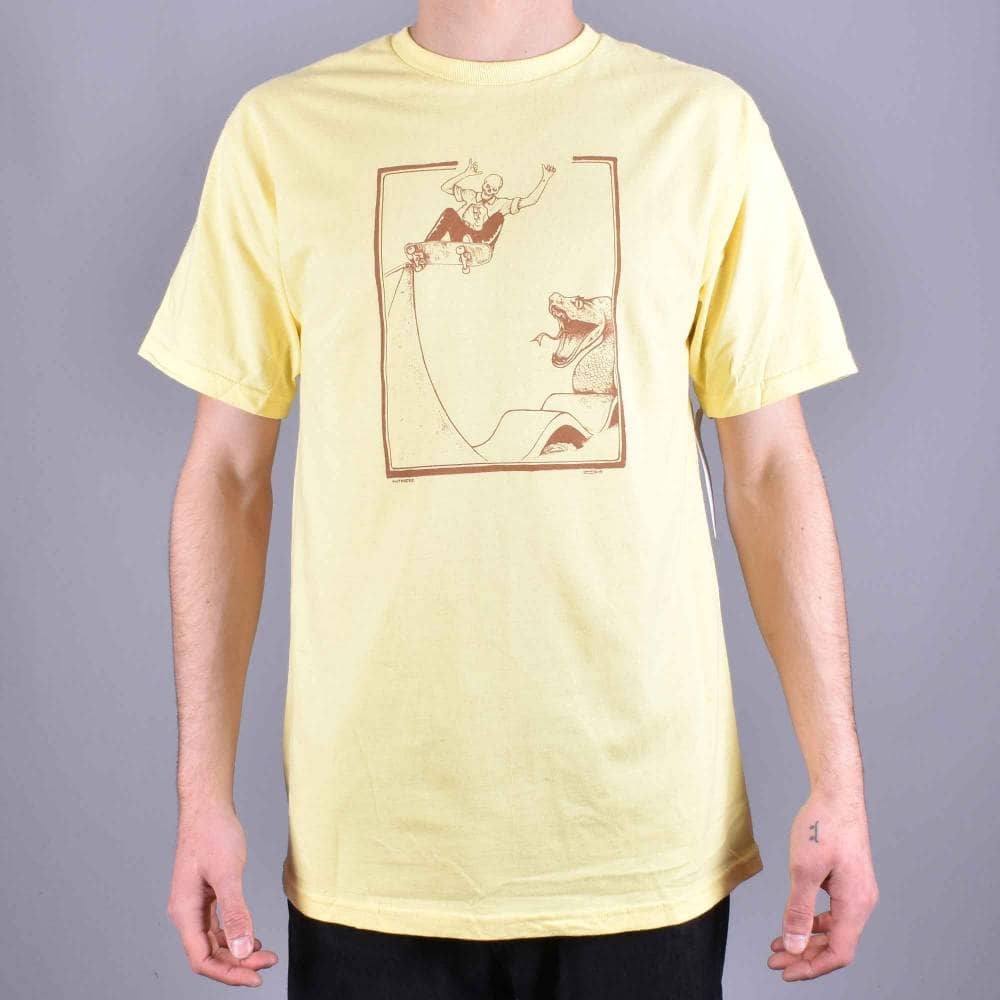 d1984e14 Antihero Skateboards Lance Raney Skate T-Shirt - Banana/Brown ...