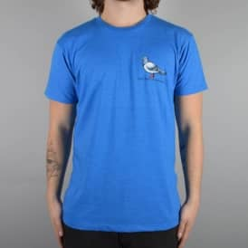 Antihero Skateboards Lil Pigeon Skate T-Shirt - Royal Heather