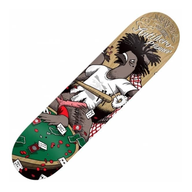 Antihero Skateboards Pfanner Wild Jokers 2 Skateboard Deck 8.06