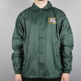 Reserve Patch Coaches Jacket - Dark Green