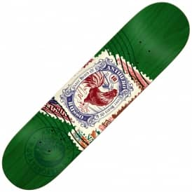 Antihero Skateboards Russo Postal (Green Stain) Skateboard Deck 8.25""