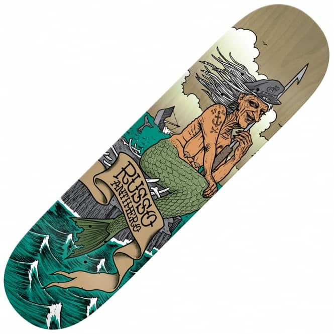Antihero Skateboards Russo Sea Hags Skateboard Deck 8.4