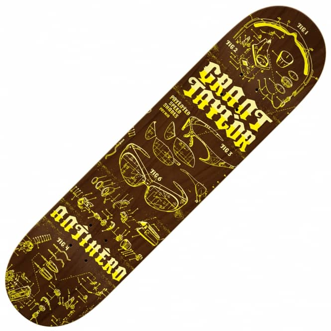 Antihero Skateboards Taylor Speed Shades Skateboard Deck 8.28