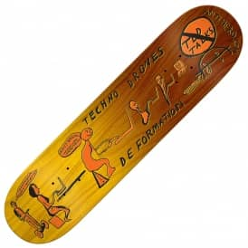 Taylor Techno Drones 2 (Yellow Stain) Skateboard Deck 8.25