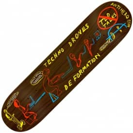Taylor Techno Drones (Brown Stain) Skateboard Deck 8.62